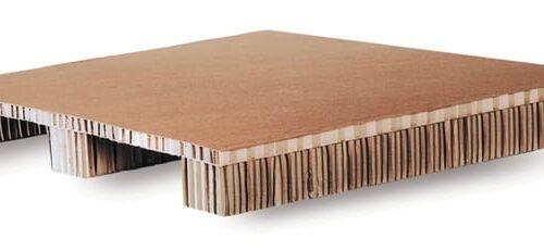 Сотовый картонный поддон двухзаходный
