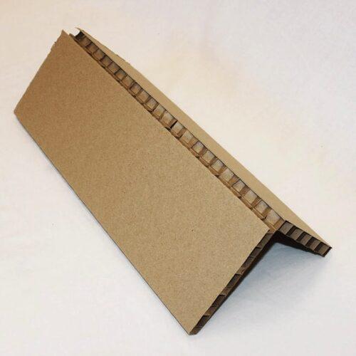 Сотовый картонный защитный уголок