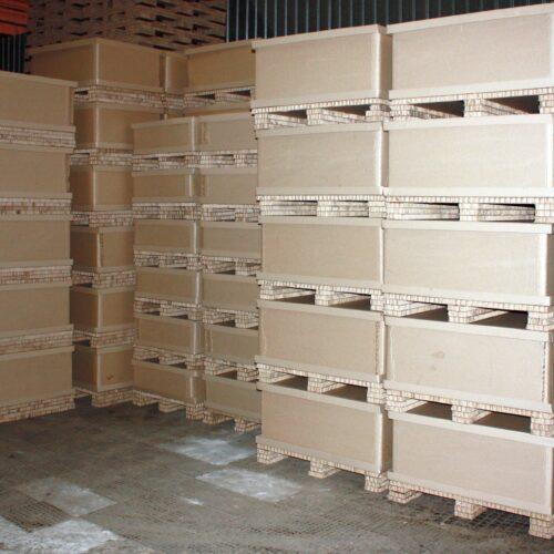 Сотовые картонные короба