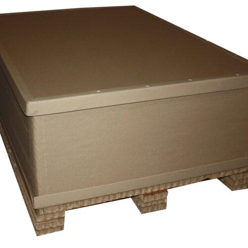 Короб из сотового картона