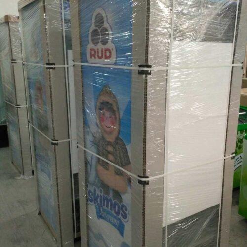 Защитный уголок из сотового картона