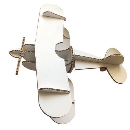 Самолёт из сотового картона