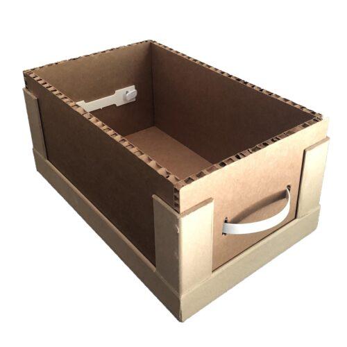 Ящик из сотового картона