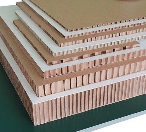 Сотовый картон разной толщины