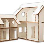 Детский домик из сотового картона